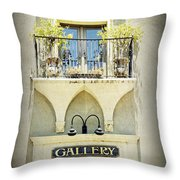 St. Augustine Gallery Throw Pillow