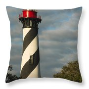 St. Augustine Lighthouse 1 Throw Pillow