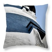 St Augustine Lighthouse - Angels And Ghosts Throw Pillow by Christine Till