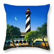 St Augustine Throw Pillow