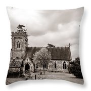 St Barnabas Faccombe Throw Pillow