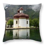 St. Batholomae Church  Throw Pillow