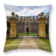 St Catharine S College Throw Pillow
