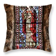 St. Catherine Of Siena Throw Pillow