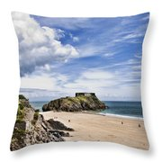 St Catherines Island 1 Throw Pillow