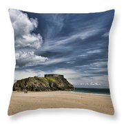 St Catherines Island 3 Throw Pillow