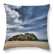 St Catherines Island 7 Throw Pillow