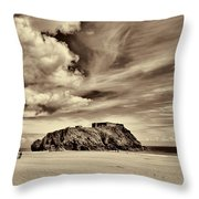 St Catherines Island 8 Throw Pillow
