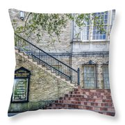 St. Charles Ave Baptist Church New Orleans Throw Pillow