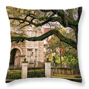 St. Charles Ave. Throw Pillow