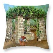 St. Clement's Castle Throw Pillow