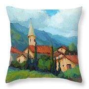 St. Colombe Provence Throw Pillow