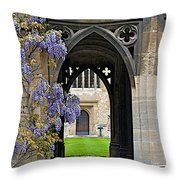St. Cross Arches Throw Pillow