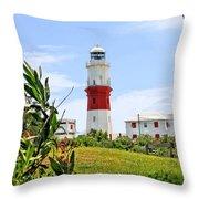 St. Davids Lighthouse Throw Pillow