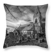 St David's Pantasaph Throw Pillow