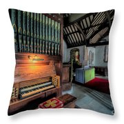 St Digains Church Throw Pillow