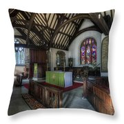 St Digain's Throw Pillow