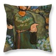 St. Dismas Throw Pillow