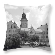 St. Edward's University Old Main I I Throw Pillow