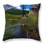 Church On The Rock Throw Pillow