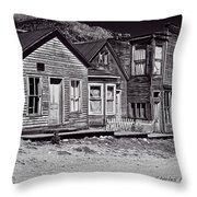 St Elmo In Black And White Throw Pillow