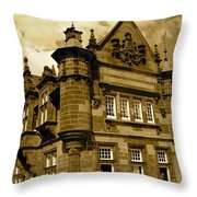 St. Enoch Subway Station 2 Throw Pillow