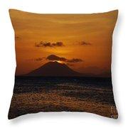St Eustatius Throw Pillow