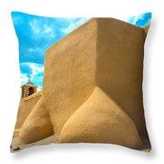 St. Francis D'asis Ranchos De Taos New Mexico Throw Pillow
