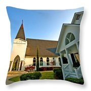 St. Francis - Front 3 Throw Pillow