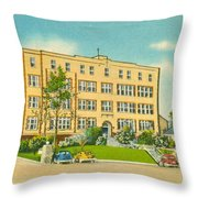 St. Francis Hospital Throw Pillow