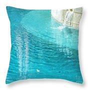 St Francisville Inn La Pool Throw Pillow