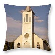 St. Gabriel The Archangel Catholic Church Throw Pillow