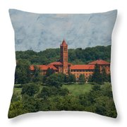 St. Gabriel's From Valley Forge Throw Pillow