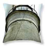 St. George Island Lighthouse 2 Throw Pillow