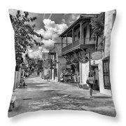 St. George Street Throw Pillow