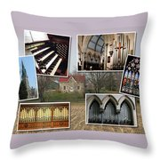 St George's Guelph Throw Pillow