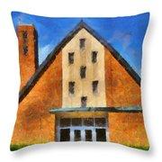 St Gerard's Catholic Church Throw Pillow