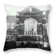 St. Giles Church Throw Pillow