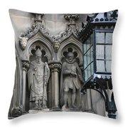 St Giles Church Statues 6600 Throw Pillow