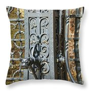 St. Gillis Well Pump Throw Pillow