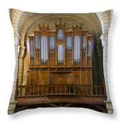 St Hilaire Poitiers Throw Pillow