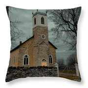 St. James Anglican Church Throw Pillow