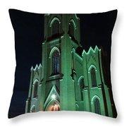 St James Catholic Church In Vancouver Washington Throw Pillow