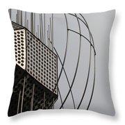 St. Joan Sculpture Vertical Throw Pillow