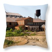 St. Joe Lead Company Throw Pillow