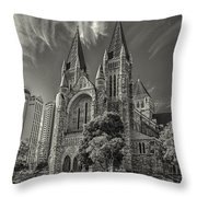 St John Cathedral Throw Pillow
