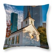 St. John Church Throw Pillow