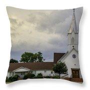 St John Lutheran Church Of Prairie Hill Throw Pillow