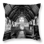 St John Ysbyty Ifan Throw Pillow