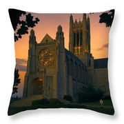 St Johns Cathedral - Spokane Throw Pillow